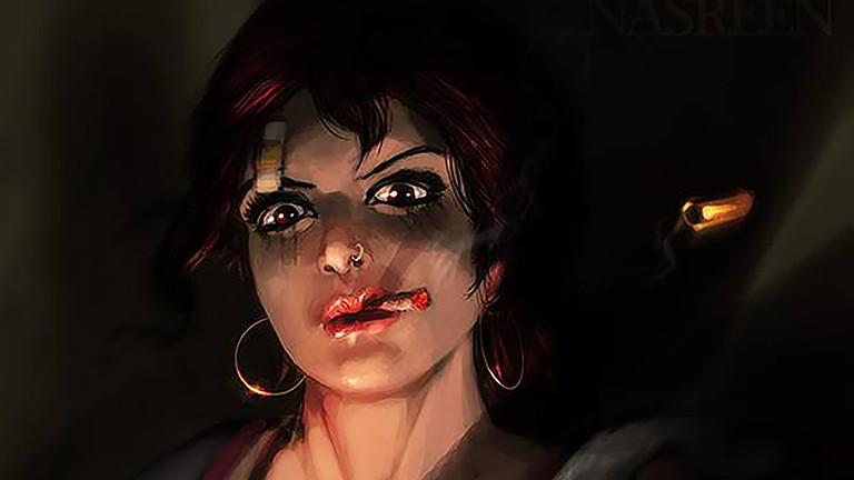 Schießt, raucht und guckt: Bloody Nasreen