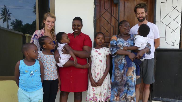 Jennifer McCann in Dar es Salaam.
