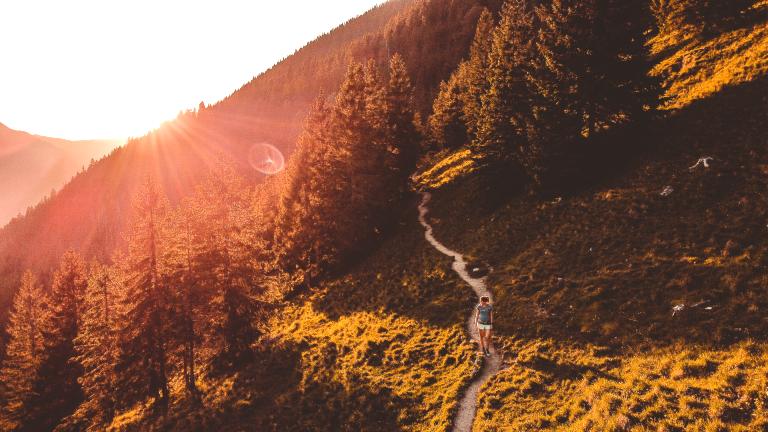 Wanderung im Chiemgau