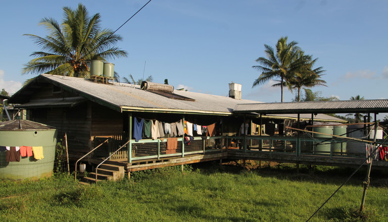 Das Krankenhaus in Kikori