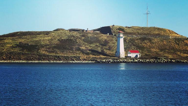 Leuchtturm im kanadischen Halifax