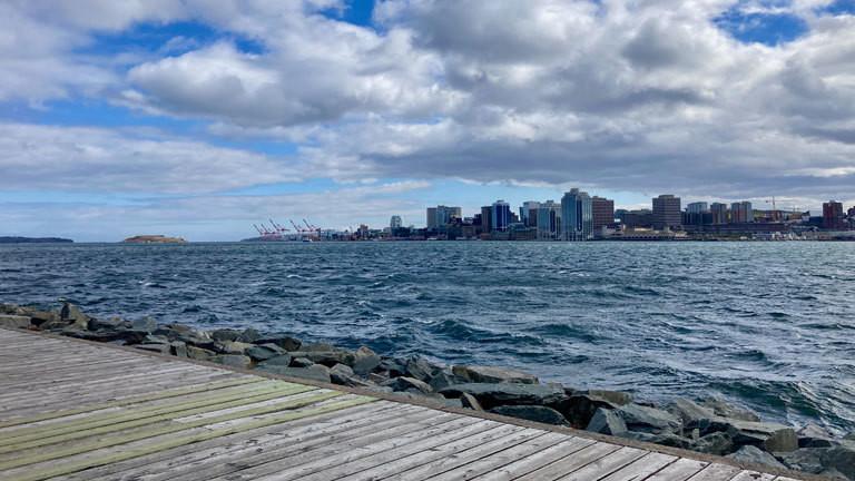 Die Skyline von Halifax