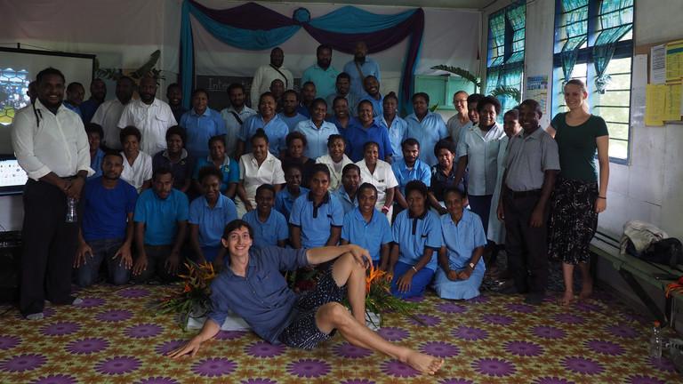 Das Krankenhausteam im General Ward Krankenhaus