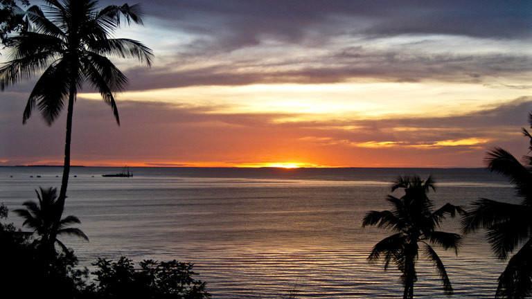 Sonnenuntergang auf Mafia Island