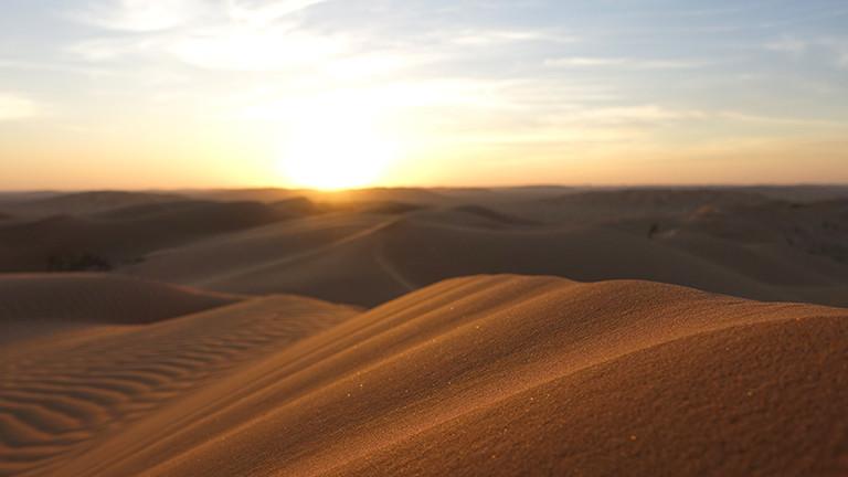 Rub al-Chali oder Leeres Viertel: die Sandwüste im Süden der arabischen Halbinsel