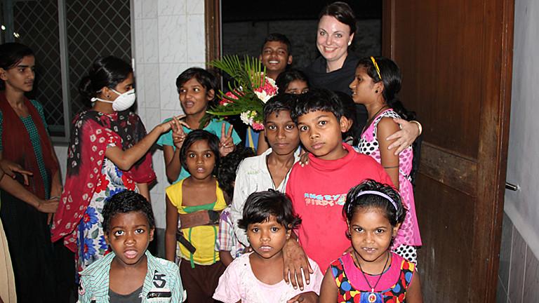 Nathalie Rans, Kinderärztin in Kalkutta
