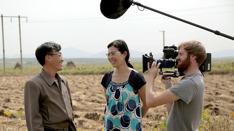 Filmset in Nordkorea