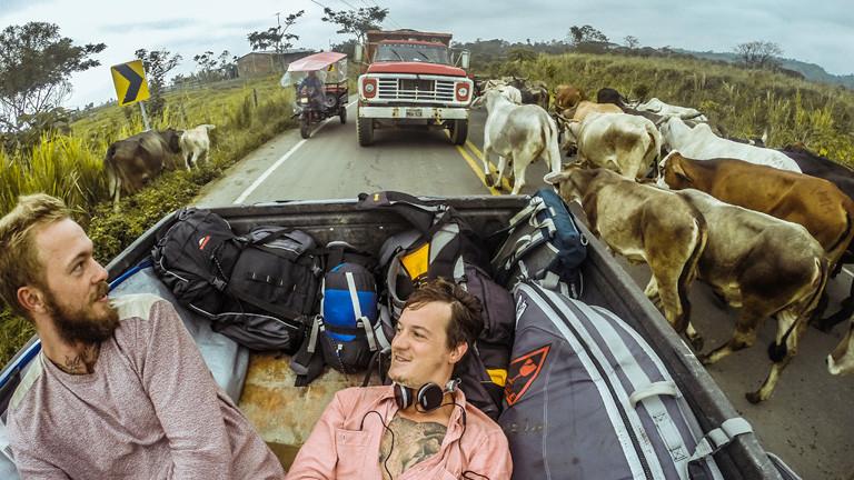 Cozy und Jo auf Reisen