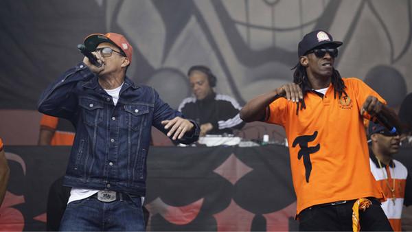 Konzert der Racionais MCs in Sao Paolo