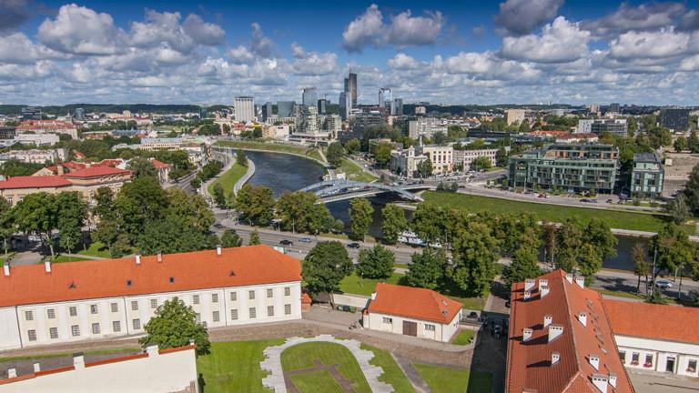 Hauptstadt von Litauen: Vilnius.