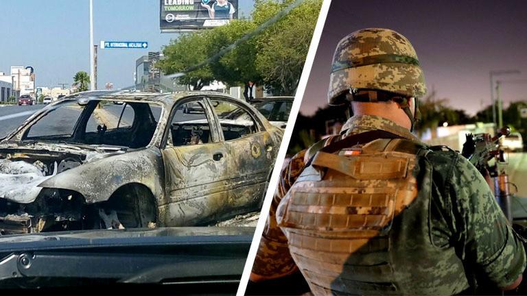 Drogenkrieg in Mexiko.
