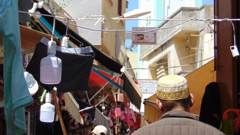 Gasse in Tanger