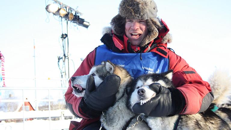 Hendrik Stachnau ist einer der besten Hundeschlittenführer der Welt.