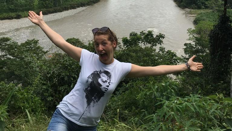 Theresa Berger in Ecuador