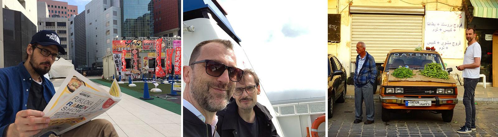 Jochen Schliemann und Michael Dietz (Japan, Ostsee, Lybien)