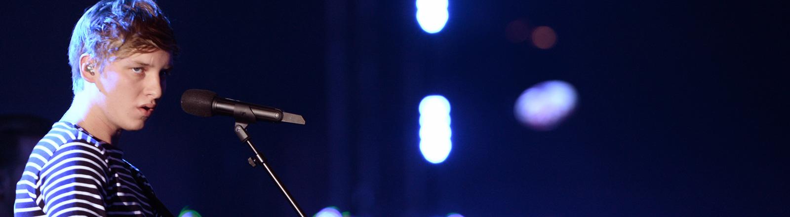 George Ezra beim Deutschen Radiopreis.