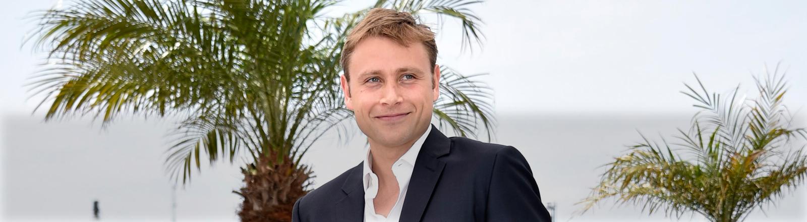 Max Riemelt bei den Filmfestspielen von Cannes.