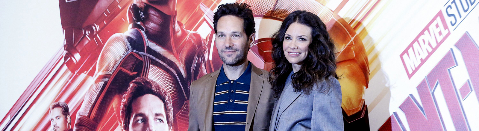 "''Ant-Man and the Wasp"" - Paul Rudd (L) und Evangeline Lilly"