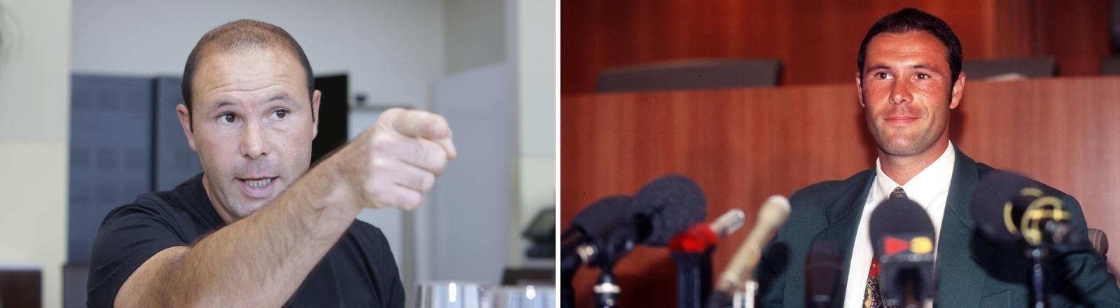 Jean-Marc Bosman 2008 und nach der Urteilsverkündung des EuGH zu seinen Gunsten am 15.12.1995