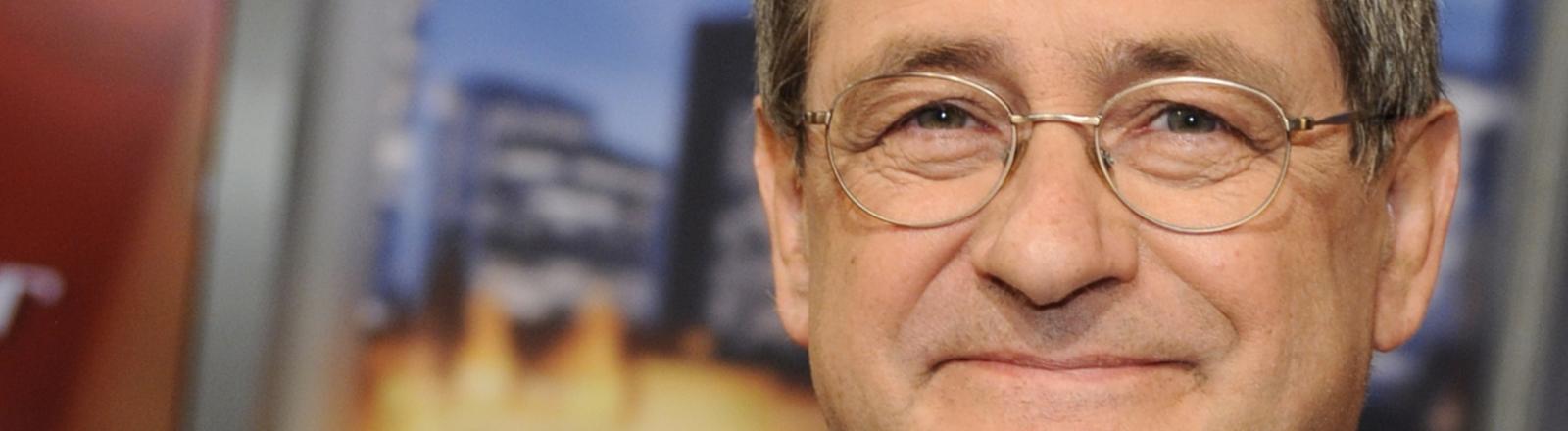 """Der Journalist und Ex-""""Wirtschaftswoche""""-Chefredakteur Roland Tichy zu Gast in der ARD-Talkshow """"Menschen bei Maischberger"""" am 20.05.2014 in Köln."""