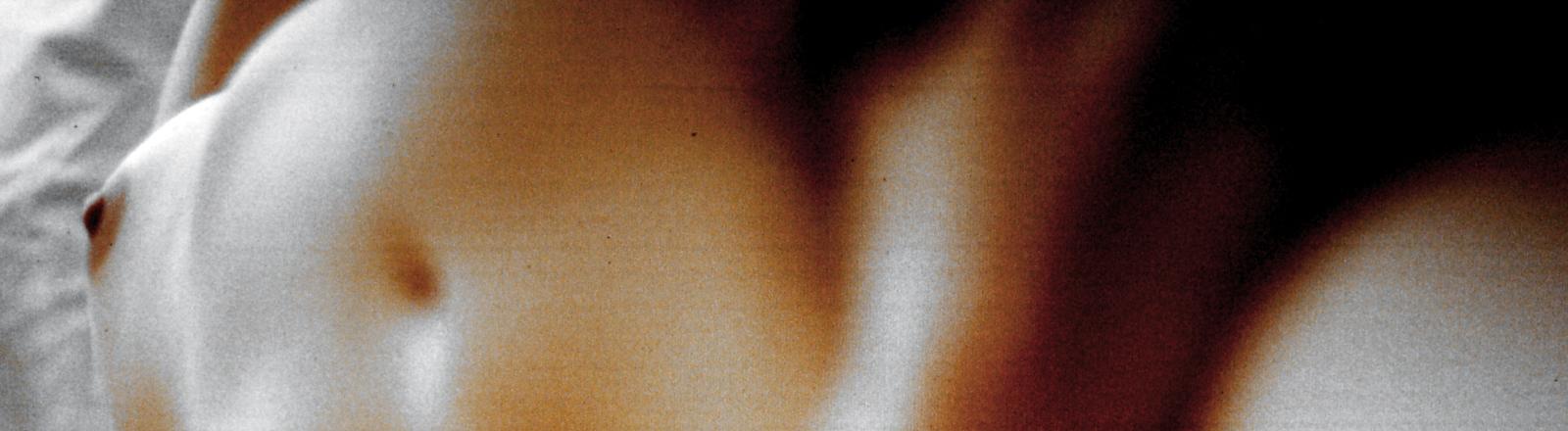 Aufnahme einer nackten Frau