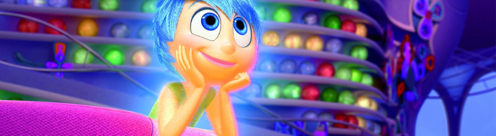 """Die Heldin aus dem Pixar-Film """"Alles steht Kopf""""."""