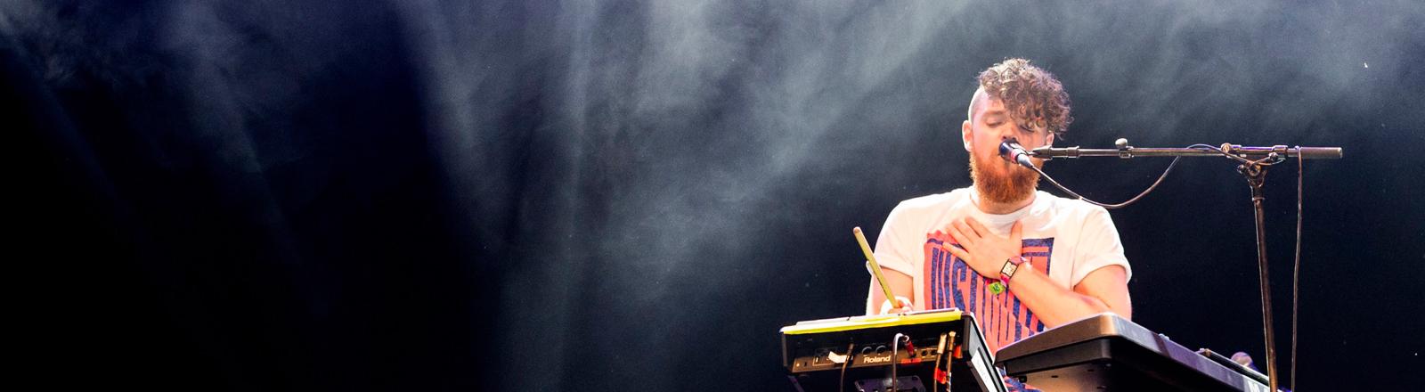 Jack Garratt bei einem Auftritt am 26.06.2015.