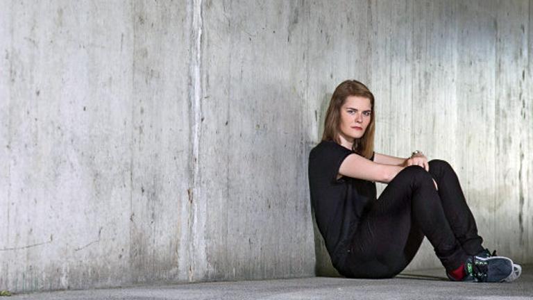 Die Schweizerin Hazel Brugger.