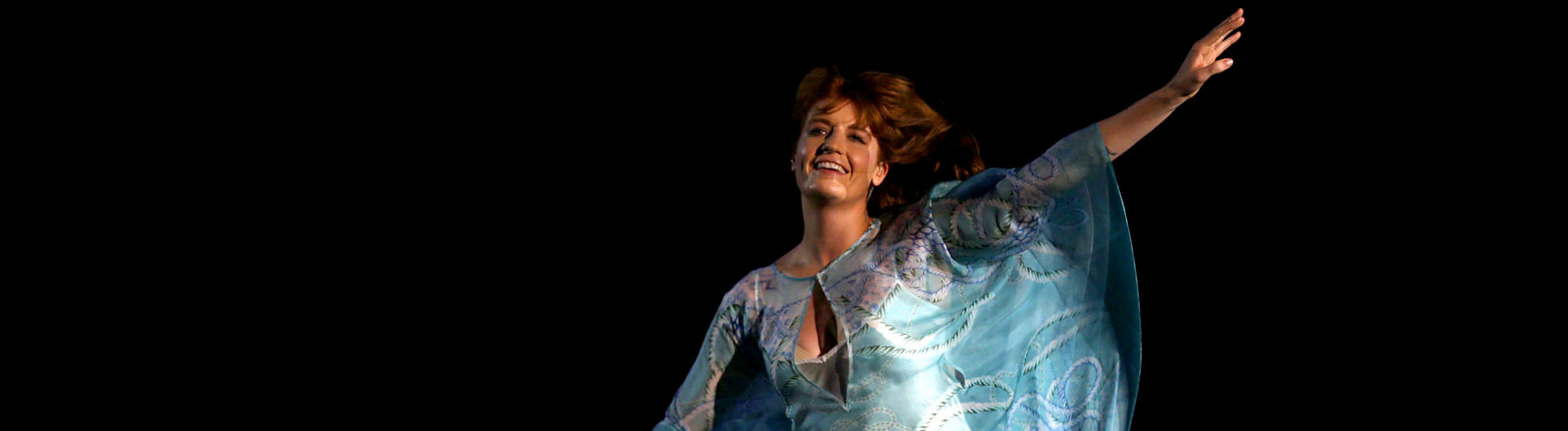 Florence Welch von Florence and the Machine bei einem Konzert in Rio.