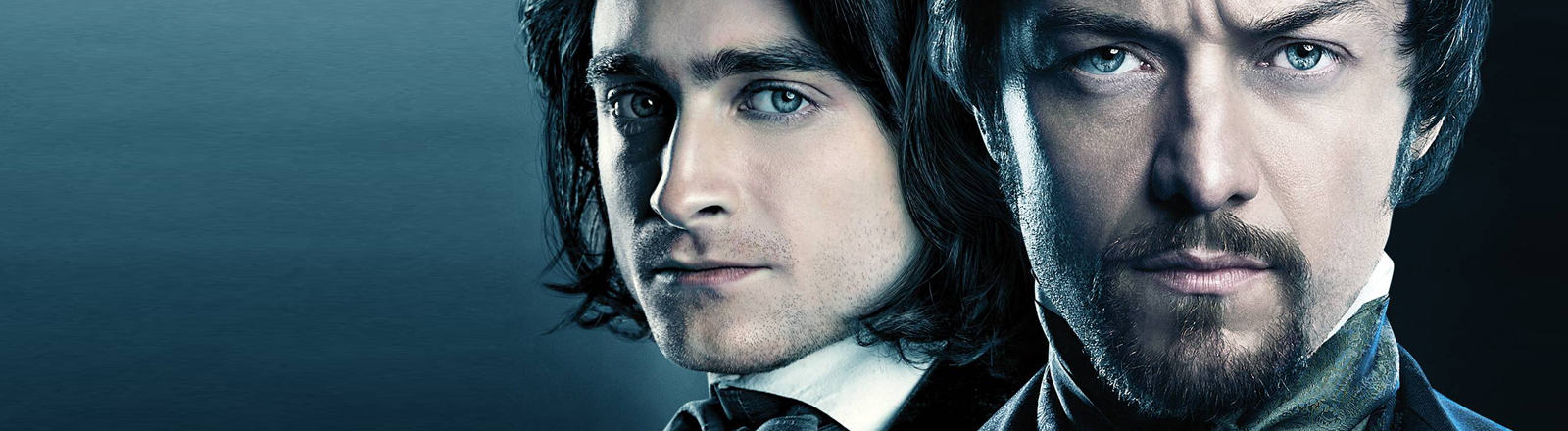 """Das Plakat zum Film """"Victor Frankenstein"""" mit James McAvoy und Daniel Radcliffe."""