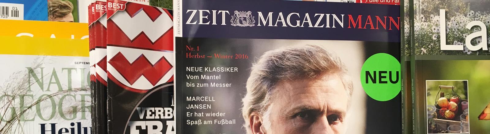 Das Magazin Zeit Mann.