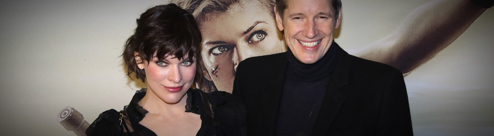 Milla Jovovich und Paul W.S.Anderson