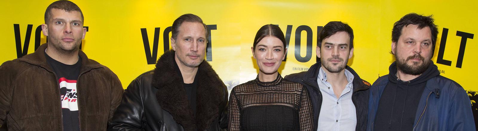 """Regisseur und Schauspieler des Films """"Volt""""."""