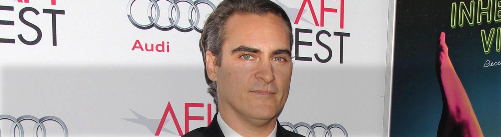 Joaquin Phoenix bei der Premiere von Inherent Vice.
