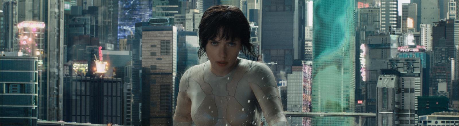 """Ghost in the Shell"" mit Scarlett Johanson"