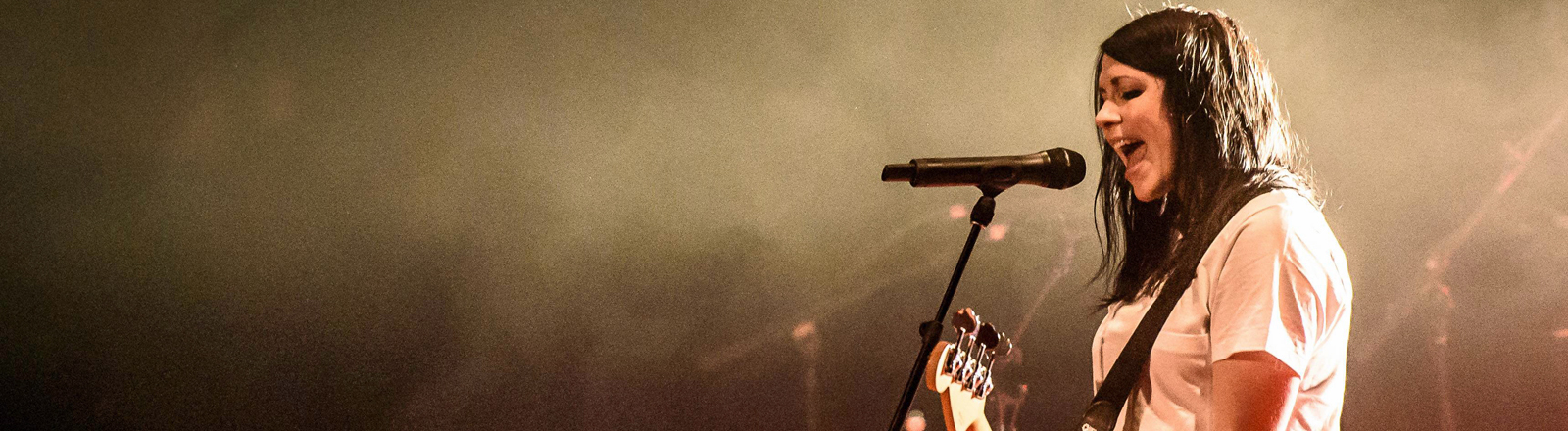 K.Flay, Kristine Meredith Flaherty steht am 11.03.2017 in Toronto auf der Bühne.