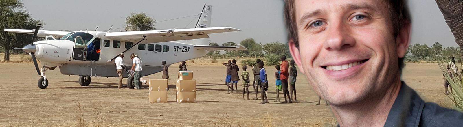 Christian Katzer engagiert sich bei Ärzte ohne Grenzen. Nicolas Peissel | MSF