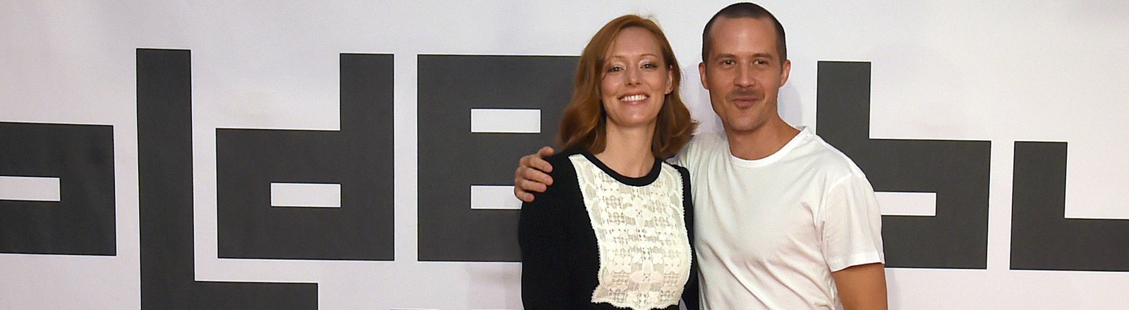 Lavinia Wilson und Barnaby Metschurat beim Filmfestival Oldenburg 2016