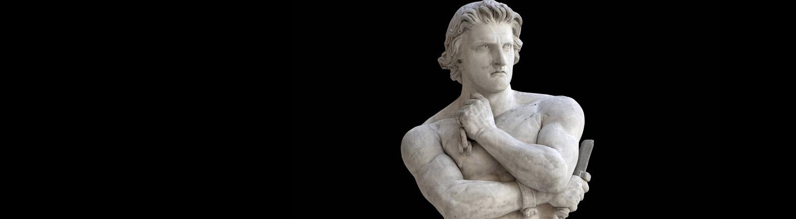Spartacus, Anführer eines nach ihm benannten Sklavenaufstandes im Römischen Reich.