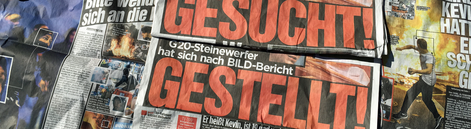 Zwei Ausgaben der BILD-Zeitung.