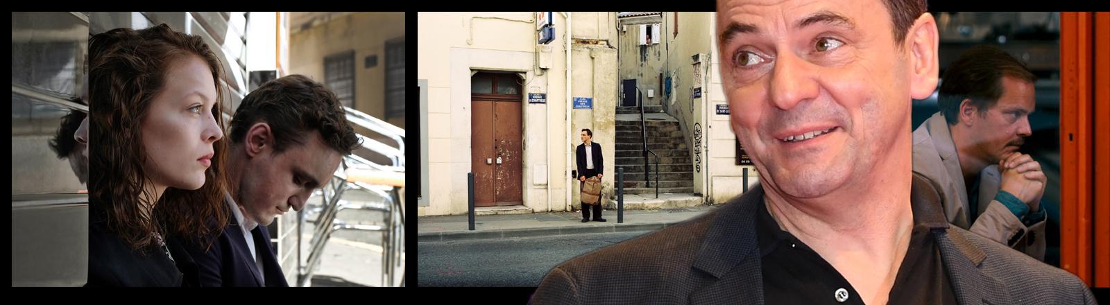 """Christian Petzold mit seinem Film """"Transit""""."""
