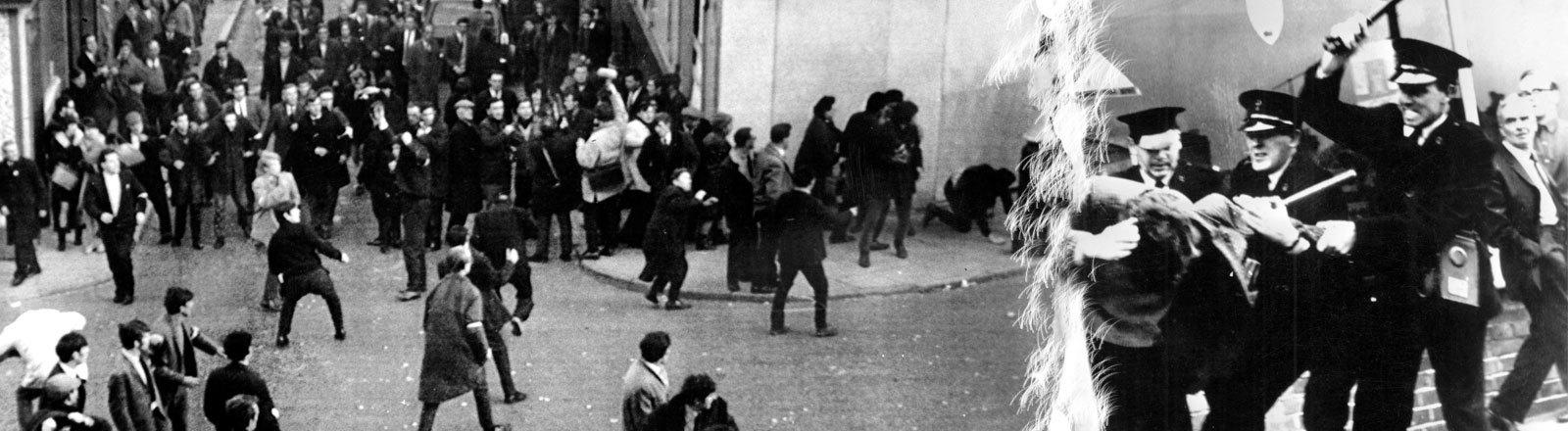 Protestmarsch Londonderry 5.10.1968