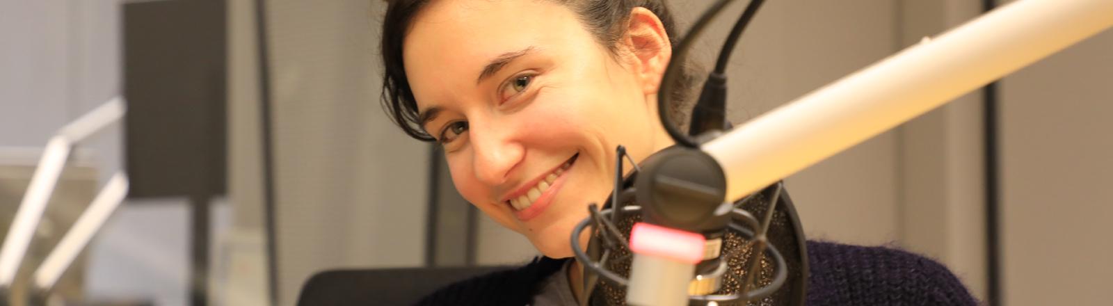 Karolin Klüppel im Studio