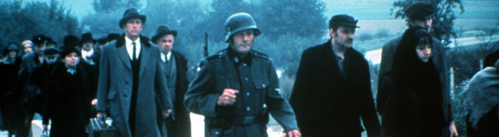 Eine Filmszene aus der US-amerikanischen TV-Serie Holocaust.