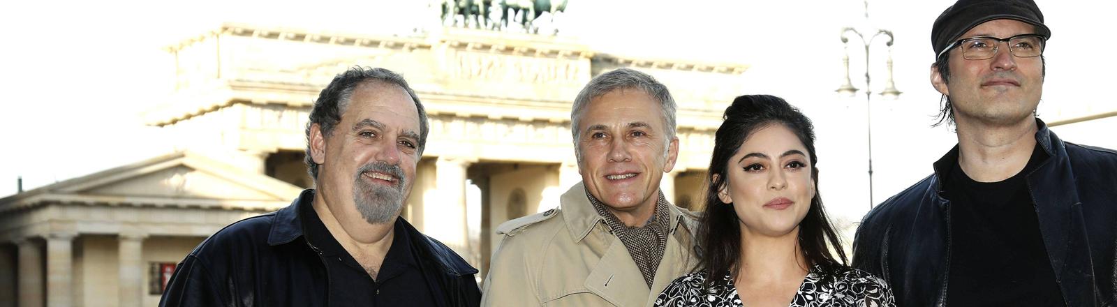Alita-Cast: on Landau Christoph Waltz Rosa Salazar und Robert Rodriguez