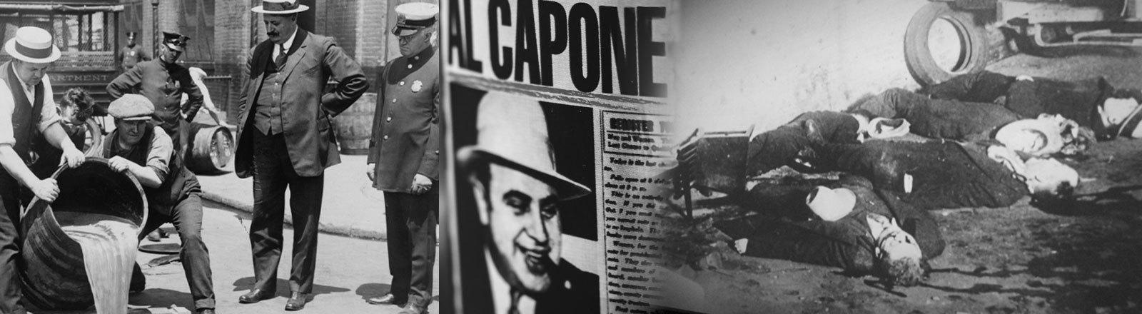 Prohibition, Valentinstags-Massaker und Al Capone