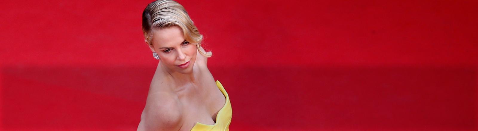 Charlize Theron bei den 68. Filmfestspielen von Cannes.