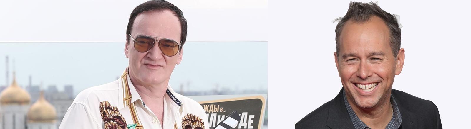 Quentin Tarantino und Jona Rivera