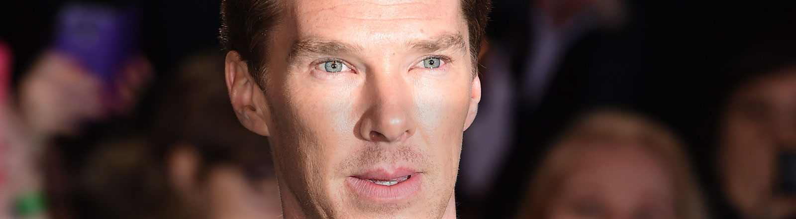 Benedict Cumberbatch bei der Premiere von The Hobbit in London.