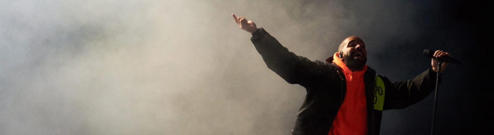 Drake auf der Bühne